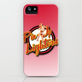 Pinup Lighters Logo Merchandise iPhone Case