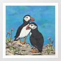 Puffin Perfection by lottibrown