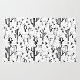 Llama Llamarama + Cactus 2 Rug
