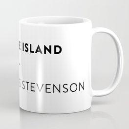 Treasure Island  —  Robert Louis Stevenson Coffee Mug