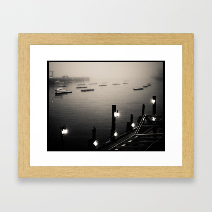Camden Harbor, Maine Framed Art Print