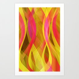 Abstract background G139 Art Print