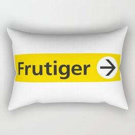 Frutiger arrow | W&L007 Rectangular Pillow