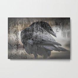 Cold Shoulder Metal Print