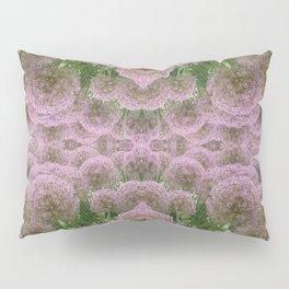 Purple Poof Pattern Pillow Sham