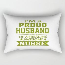 I'M A PROUD NURSE'S HUSBAND Rectangular Pillow