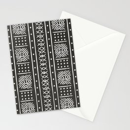 Another black mud cloth Stationery Cards