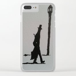 Walking Home, London, 1887 Clear iPhone Case