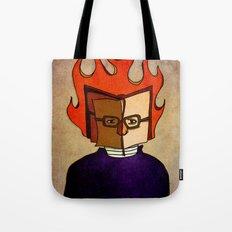 Prophets of Fiction - Ray Bradbury /Fahrenheit 451 Tote Bag