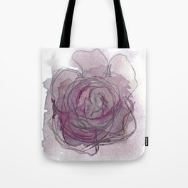 Rose - Abstract Watercolour Tote Bag