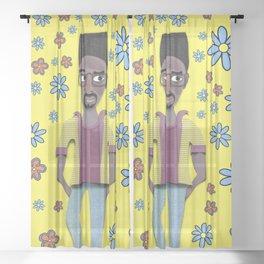 kelvin. Sheer Curtain