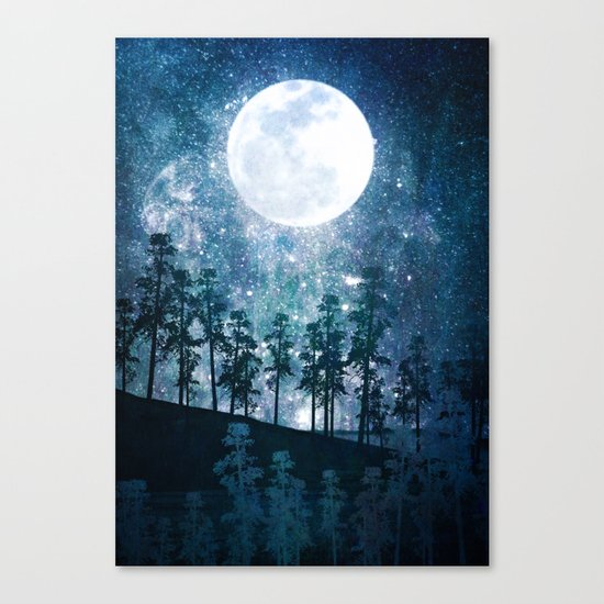 A Forest of Stars Canvas Print