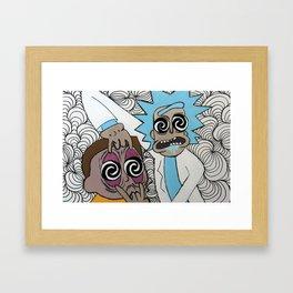 Ripple Junction Framed Art Print