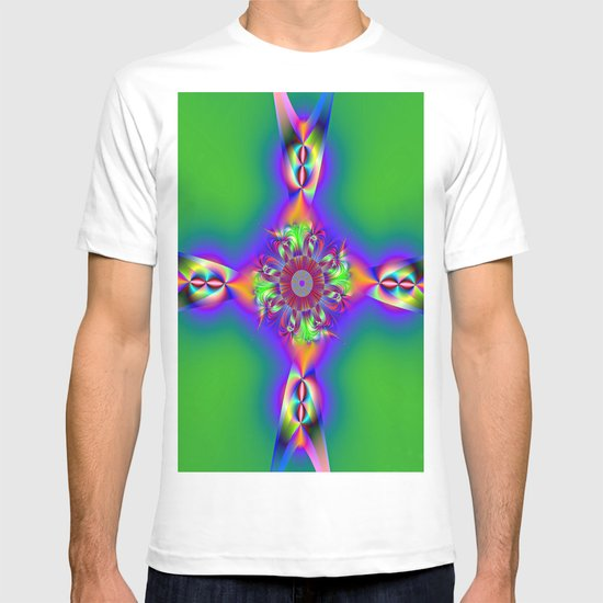 FishTail cross T-shirt