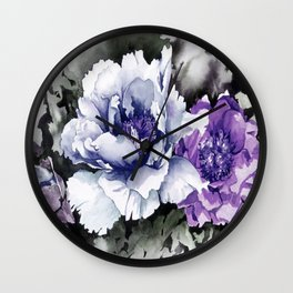 FLOWER PAINTING1 Wall Clock