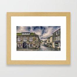 The Ship Inn Mevagissey Framed Art Print
