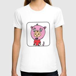 Angry Teddy Bear Baby T-shirt