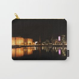 Liverpool At Night - The Salthouse Dock Carry-All Pouch