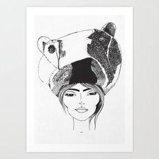 PolarGirl Art Print