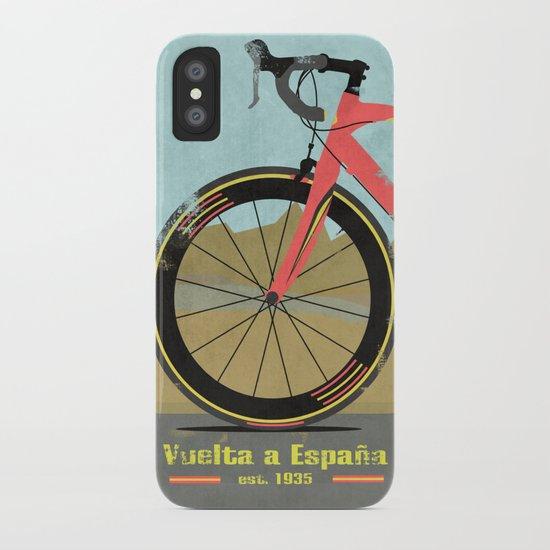 Vuelta a Espana Bike iPhone Case