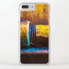 Texture Clear iPhone Case