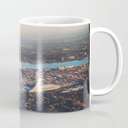 Flying over Montreal' stade Coffee Mug