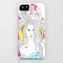 Queen of Roses iPhone Case