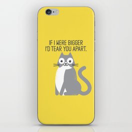 Purrfectly Honest iPhone Skin