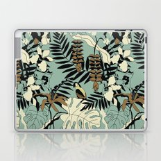 Modern Jungle Rain Forest Minimalist Parrot Laptop & iPad Skin