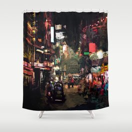 Calle x GV Shower Curtain