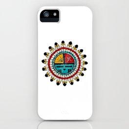 Hopi Kachina Native American design iPhone Case