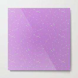 Lavender Night Sky Metal Print