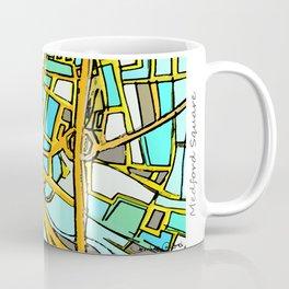 Abstract Map- Medford Square Coffee Mug
