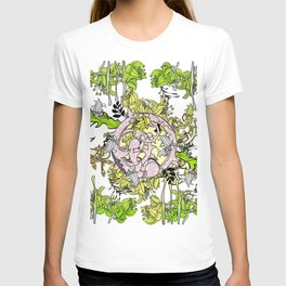 Lost world in enchanted forest T-shirt