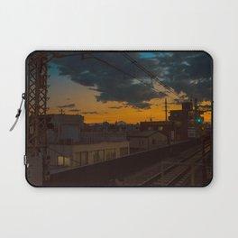 Tokyo Nights / Sunset over Fuji / Liam Wong Laptop Sleeve