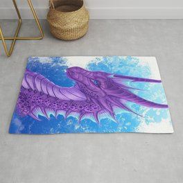 Purple Dragon Rug