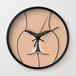 Sexy girl in a bikini #society6 #decor #buyart #artprint Wall Clock