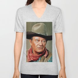John Wayne Unisex V-Neck