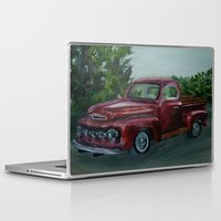 truck Laptop & iPad Skins featuring Pickup truck by spiderdave7