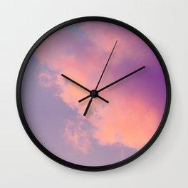 Pastel Twilight Wall Clock