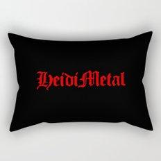 Heidi Metal Rectangular Pillow