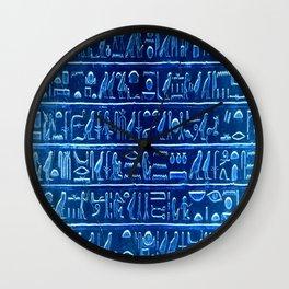 Osiris Moon Magick Egyptian Temple Wall Clock