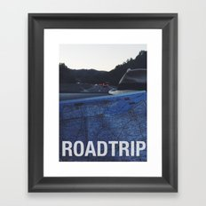 Roadtrip Framed Art Print