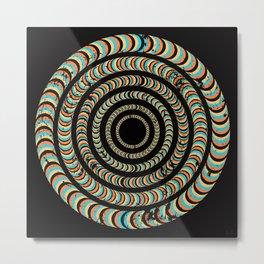 Slow Spin Metal Print