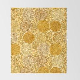 Saffron Souk Throw Blanket