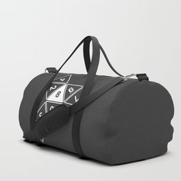 Grey Unrolled D8 Duffle Bag