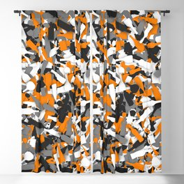 Urban alcohol camouflage Blackout Curtain