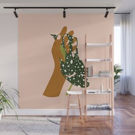Botanical Love #painting #illustration Wall Mural