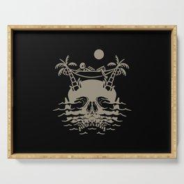 Skull Island Serving Tray
