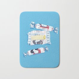 White Rabbit Candy 2 Bath Mat